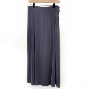 Eileen Fisher Dancer Maxi Stretch Silk Skirt